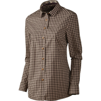 Рубашка женская HARKILA Selja Lady LS check shirt цвет Bright port check
