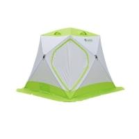Палатка ЛОТОС-ТЕНТ Lotos Cube Professional цвет Серый / Салатовый