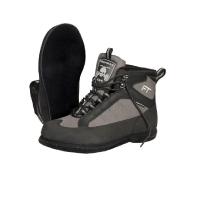Ботинки забродные FINNTRAIL Stalker войлочная подошва 5191 цвет Серый / черный
