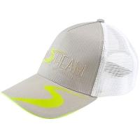 Бейсболка NORSTREAM с логотипом NEW с сеткой цв. бежево-зеленый