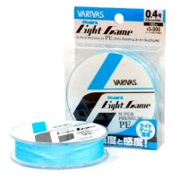 Плетенка VARIVAS Light Game Super Premium PE 100 м цв. Голубой # 0,2