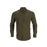 Рубашка HARKILA Trail L/S shirt цвет Willow green