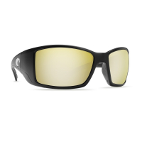 Очки COSTA DEL MAR Blackfin 580 GLS р. L цв. Matte Black Global Fit цв. ст. Silver Copper