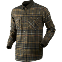 Рубашка HARKILA Pajala shirt цвет Willow green check