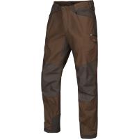 Брюки HARKILA Hermod Trousers цвет Slate Brown / Shadow Grey