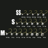 Джиг-Головка TICT Azing Standart 1,3 гр, кр. р. M (5 шт.)