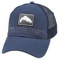 Кепка SIMMS Small Fit Trout Icon Trucker цв. Dark Moon