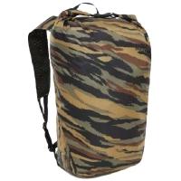 Рюкзак THE NORTH FACE Flyweight Rolltop Packable Backpack 19,5 цвет Britsh Khaki Tiger Camo Print\ Black
