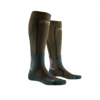 Носки X-BIONIC X-Socks Hunt Long Socks цвет Оливковый / Хвойный