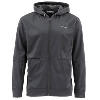 Толстовка SIMMS Challenger Hoody - Full Zip цвет Black