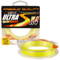 Плетенка NORSTREAM Ultra game 4x #0,6 цв. fluo yellow