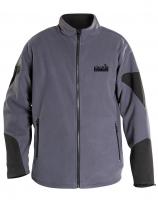 Куртка NORFIN флис Storm Proof цвет серый/черный