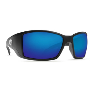 Очки COSTA DEL MAR Blackfin 400 GLS р. L цв. Black цв. ст. Blue Mirror