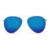 Очки COSTA DEL MAR Piper 580 GLS р. M цв. Velvet Silver Frame цв. ст. Blue Mirror превью 3