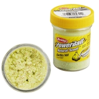 Паста BERKLEY PowerBait Natural Scent Glitter TroutBait аттр. Чеснок цв. Блестящий