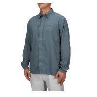 Рубашка SIMMS Bugstopper Intruder BiComp LS Shirt '21 цвет Storm превью 5