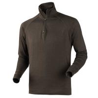 Водолазка HARKILA All Season Shirt Zip-Neck цвет Shadow brown