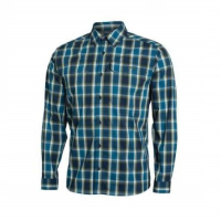 Рубашка SITKA Globetrotter Shirt LS цвет Pond Plaid