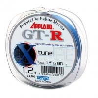 Плетенка SANYO Applaud GT-R X-tune PE 80 м 0,205 мм цв. серо-голубой