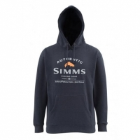 Толстовка SIMMS Badge of Authenticity цвет Midnight