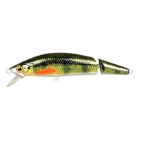Воблер SPRO Ikiru Jointed 110F цв. Chrome Green Perch