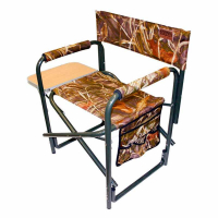 Кресло CAMPING WORLD General с откидным столиком цвет камуфляж