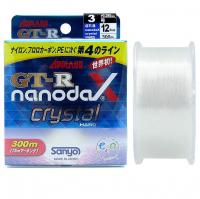 Леска SANYO Applaud GT-R NanodaX 300 м 0,37 мм цв. прозрачный