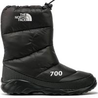 Сапоги THE NORTH FACE Men's Nuptse Bootie 700 цвет черный / белый