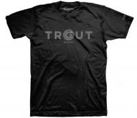 Футболка SIMMS Reel Trout T-Shirt цвет Black
