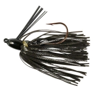Бактейл STRIKE KING Bitsy Bug mini jig 1,75 г (1/16 oz) цв. black