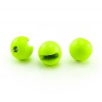Головка вольфрамовая РУССКАЯ БЛЕСНА Tungsten Ball Trout fluo green (5 шт.) цв. 0,11 г