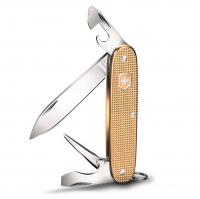 Нож VICTORINOX Pioneer Alox LE2019 93мм 8 функций цв. Золотистый (в подарочной уп.)