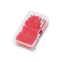 Защита для крючка MEIHO Safety Cover L (100 шт.) в коробке цв. красный