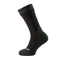 Носки SEALSKINZ Trekking Thick Mid Sock цвет Black / Racing Green