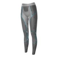Кальсоны X-BIONIC Apani Merino By Lady Uw Pants Long цвет Черный / Серый / Бирюзовый