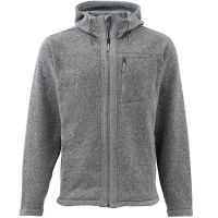 Куртка SIMMS Rivershed Full Zip Hoody цвет smoke