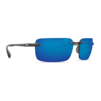 Очки COSTA DEL MAR Cayan 580 P р. XL цв. Thunder Gray цв. ст. Blue Mirror