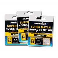 Готовая оснастка MATRIX Hooks to Nylon Super Match № 18 0,104 мм