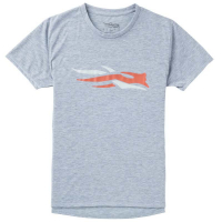 Футболка SITKA WS Logo Tee SS цвет Heather Grey