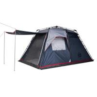 Палатка FHM Polaris 4 кемпинговая цвет Синий / Серый