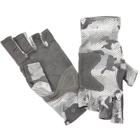 Перчатки SIMMS Solarflex Guide Glove цвет Hex Flo Camo Steel превью 2