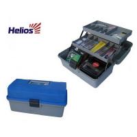 Ящик рыболовный HELIOS двухполочный синий HELIOS (Тонар)