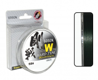 Плетенка GOSEN 4PE W Braid Hard Type 150м Dark Green #2