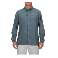 Рубашка SIMMS Bugstopper Intruder BiComp LS Shirt '21 цвет Storm превью 4