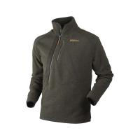 Пуловер HARKILA Nite HSP pullover цвет Warm olive melange