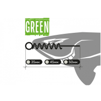 Оснастка XBAITS X Screw's Green 35 мм