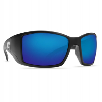 Очки COSTA DEL MAR Blackfin 580 P р. L цв. Black цв. ст. Blue Mirror
