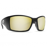Очки COSTA DEL MAR Blackfin 580 P р. L цв. Matte Black цв. ст. Sunrise Silver Mirror