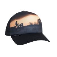 Бейсболка SITKA Landscape Trucker Wt цвет Black