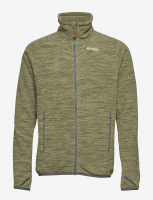 Куртка BERGANS Hareid Fleece Jacket NoHood мужская цвет Seaweed Mel